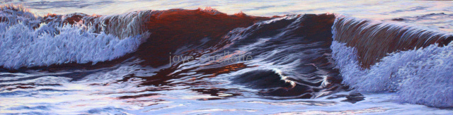 "Wave13, 17"" x 66"". SOLD"