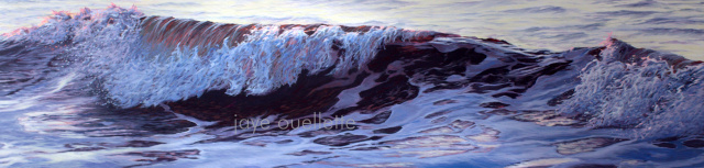 "Wave15, 17"" x 66"".   SOLD"