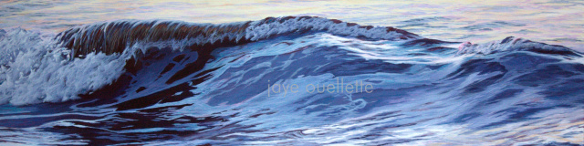 "Wave11, 13"" x 49"".     SOLD"
